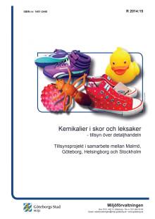Undersökning om farliga kemikalier i leksaker och skor