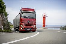 Dygtige chauffører bliver endnu bedre i den ny Mercedes-Benz Actros