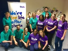 Local hospital heroes to take on a Resolution to Run for the Stroke Association