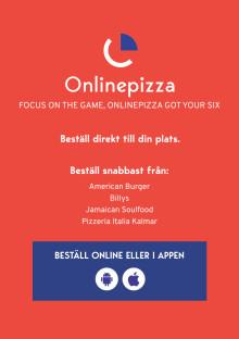 Så här beställer du pizza till din plats på DreamHack