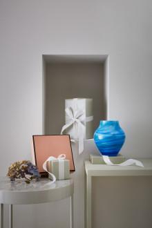 Un design façonné à la main : quatre couches de verre pour parvenir à la perfection