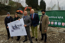 Jess Phillips MP welcomes scheme to improve access at Stechford station
