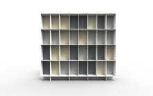 ASPLUND produce shelving system in upcycled material to be displayed at Salone Internazionale del Mobile 2018 in Milan