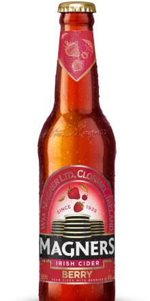 Nyhet! Magners Berry - färskpressad päroncider smaksatt med bär