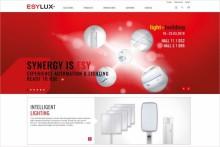 Ny lansering av webbplatsen för ESYLUX