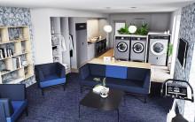 HSB introducerar hållbar tvättstudio med vardagsrumskänsla