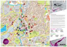 Map - No Limit Street Art Borås