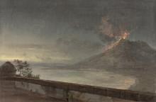 Nyförvärv: Utsikt mot Vesuvius från Villa Quisisana av Johan Christian Dahl