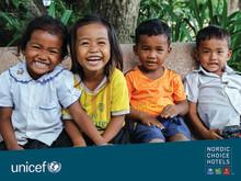 Anna Reilly från Clarion Hotel & Congress Malmö Live utvald att  besöka barncenter mot människohandel i Kambodja