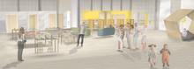 Studio Stockholm ritar Gavlegårdarnas nya  aktivitetsbaserade kontor