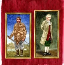 Inuit og europæere mødes i historisk tegneserie