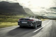 Ensimmäinen BMW 8-sarjan Cabrio: ylellistä avoautoilua urheilullisesti mutta elegantisti