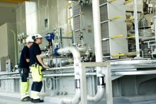 Kraftvärmen i Kalmar åter i drift