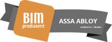 ASSA ABLOY Entrance Systems mottar BIM utmerkelse