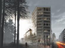 Arkitema Architects ritar trähus i Uppsala