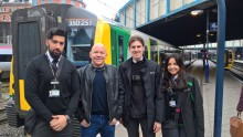 BBC One daytime show, Dom On The Spot, heads to London Midland's trains