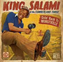 King Salami & The Cumberland Three: London's Premiere International Party Band Release Third LP