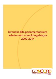 EU-parlamentarikers arbete med utvecklingsfrågor