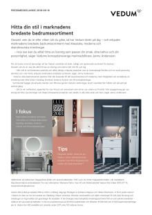 Hitta din stil i marknadens bredaste badrumssortiment