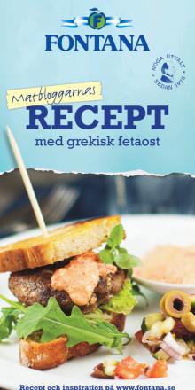 Matbloggarnas recept med grekisk fetaost
