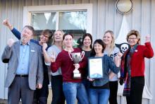 Saxemara förskola vann hälsoutmaning