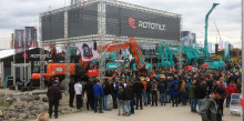 Rototilt taking its place at the world's largest construction machinery show