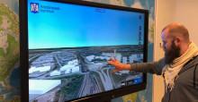 3D-teknik och nytt visningscenter lyfter fram samhällsplanering