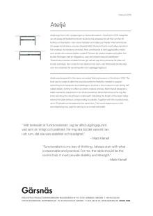Produkttext Bord Ateljé