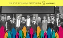 Liber stolt huvudsamarbetspartner till TV-sänd Lärargala för fjärde året i rad