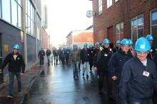 49 maskinmesterstuderende på virksomhedstur i Frederikshavn