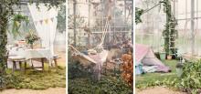 Forårsfornemmelser: Søstrene Grene lancerer en ny udelivskollektion