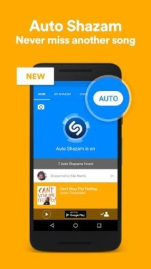 Shazam For Android Has A New 'Auto' Listening Mode