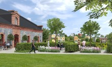 Nu säljs de första husen i Steninge Slottsby
