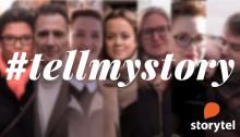 Tell my story - porträttserie på Storytel