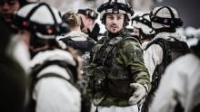Stor försvarsövning i Härnösand