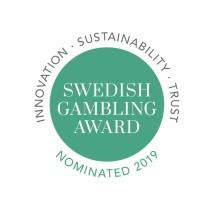 Finalisterna i Swedish Gambling Award - utmärkelsen för en mer hållbar spelbransch