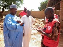 Röda Korset stödjer 150 000 människor på flykt i Nigeria