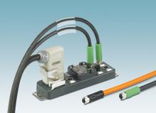 Splittbox för kraftapplikationer