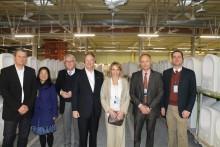 US-Botschafter John B. Emerson zu Besuch bei Villeroy & Boch in Mettlach