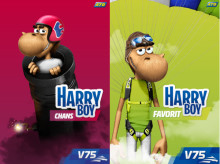 Premiär för Harry Boy Chans och Harry Boy Favorit på ATG.se