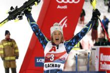 Anna Swenn-Larsson Zweite beim Nachtslalom in Flachau