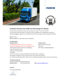 Presstest Eurocargo och Daily 7 ton