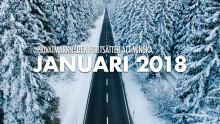 Bilmarknaden januari 2018