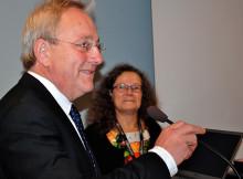 Claes Tingvall fick MHF:s guldmedalj