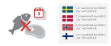 Nordborna avstår kött och fisk av helt olika anledningar