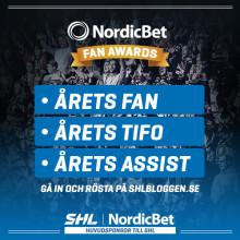 Dags för NordicBet Fan Awards – tävlingen som sätter hockey-fans i centrum