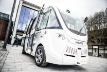 Göteborgs första självkörande buss