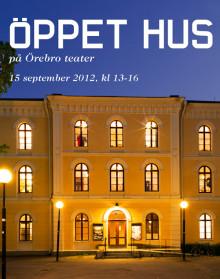 Auktion och Öppet hus på Örebro länsteater