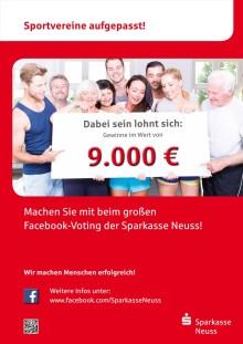 Das große Spendenvoting der Sparkasse Neuss geht in die 4.  Runde - WIR MACHEN MENSCHEN ERFOLGREICH!