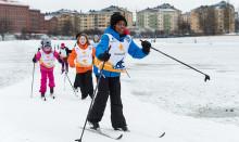 """Dubbelt så många barn får uppleva snöglädje genom """"Alla på snö"""" – i både Stockholm och Västerås"""